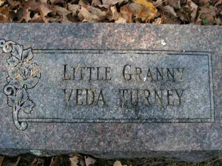 TURNEY, VEDA - Boone County, Arkansas | VEDA TURNEY - Arkansas Gravestone Photos