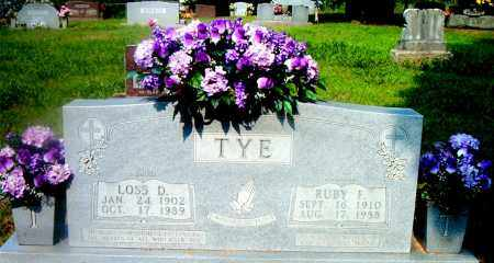 TYE, RUBY  E. - Boone County, Arkansas | RUBY  E. TYE - Arkansas Gravestone Photos