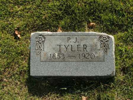 TYLER, P.J. - Boone County, Arkansas | P.J. TYLER - Arkansas Gravestone Photos