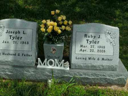 TYLER, RUBY J. - Boone County, Arkansas | RUBY J. TYLER - Arkansas Gravestone Photos