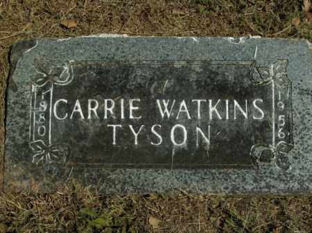 WATKINS TYSON, CARRIE - Boone County, Arkansas | CARRIE WATKINS TYSON - Arkansas Gravestone Photos