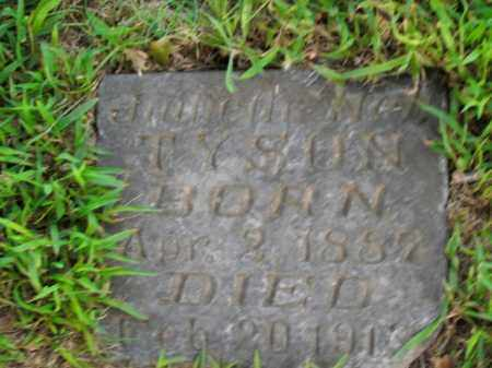 TYSON, JULIETH NELL - Boone County, Arkansas   JULIETH NELL TYSON - Arkansas Gravestone Photos