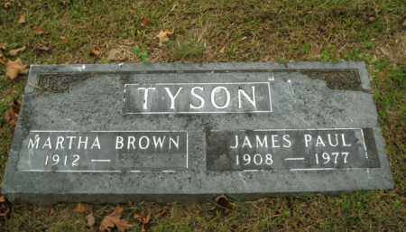 TYSON, JAMES PAUL - Boone County, Arkansas | JAMES PAUL TYSON - Arkansas Gravestone Photos