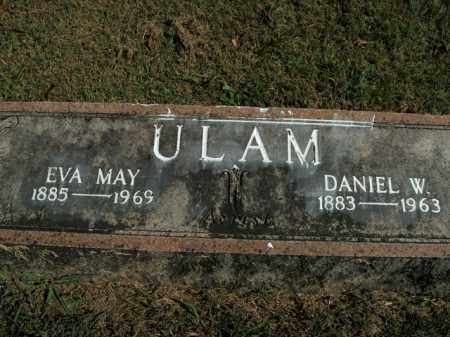 ULAM, DANIEL W. - Boone County, Arkansas | DANIEL W. ULAM - Arkansas Gravestone Photos