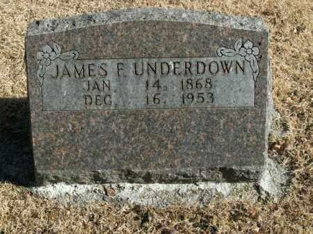 UNDERDOWN, JAMES F. - Boone County, Arkansas | JAMES F. UNDERDOWN - Arkansas Gravestone Photos