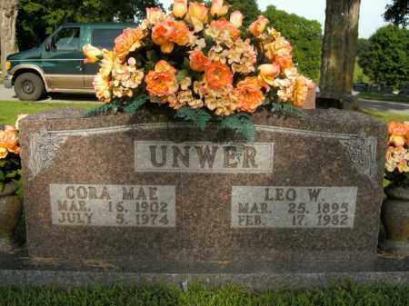 UNWER, CORA MAE - Boone County, Arkansas | CORA MAE UNWER - Arkansas Gravestone Photos