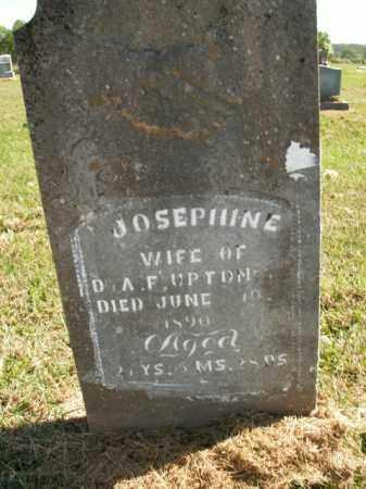 UPTON, JOSEPHINE - Boone County, Arkansas | JOSEPHINE UPTON - Arkansas Gravestone Photos