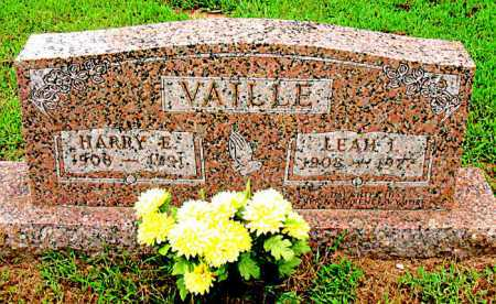 VAILLE, LEAH I - Boone County, Arkansas | LEAH I VAILLE - Arkansas Gravestone Photos