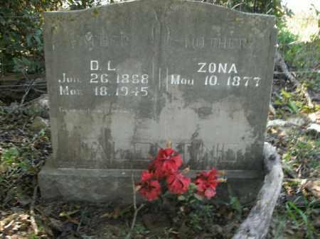 VALENTINE, ZONA - Boone County, Arkansas | ZONA VALENTINE - Arkansas Gravestone Photos