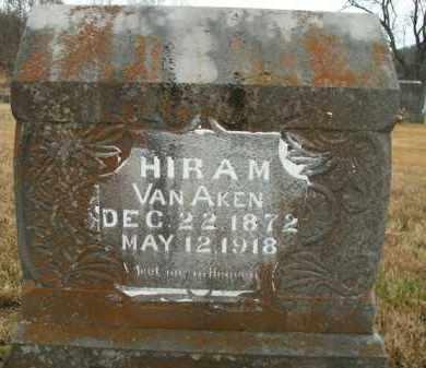 VAN AKEN, HIRAM - Boone County, Arkansas | HIRAM VAN AKEN - Arkansas Gravestone Photos