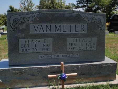 VAN METER, CLEVE J. - Boone County, Arkansas | CLEVE J. VAN METER - Arkansas Gravestone Photos