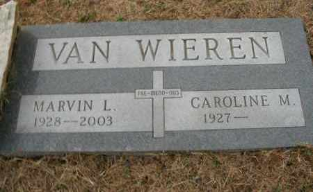 VAN WIEREN, MARVIN LOYD - Boone County, Arkansas | MARVIN LOYD VAN WIEREN - Arkansas Gravestone Photos