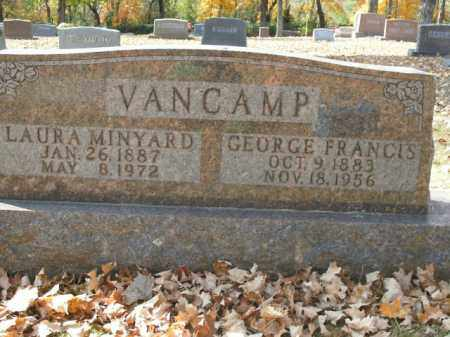MINYARD VANCAMP, LAURA - Boone County, Arkansas | LAURA MINYARD VANCAMP - Arkansas Gravestone Photos