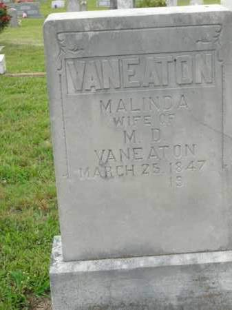 VANEATON, MALINDA - Boone County, Arkansas | MALINDA VANEATON - Arkansas Gravestone Photos