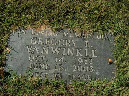 VANWINKLE, GREGORY E. - Boone County, Arkansas | GREGORY E. VANWINKLE - Arkansas Gravestone Photos
