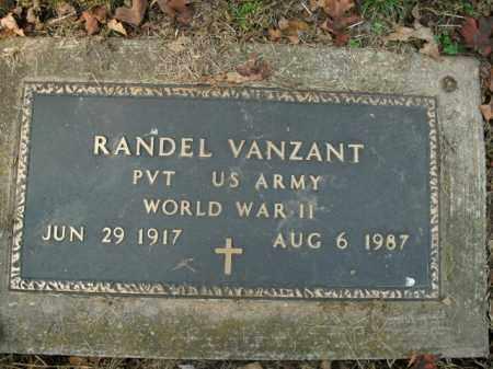 VANZANT  (VETERAN WWII), RANDEL - Boone County, Arkansas | RANDEL VANZANT  (VETERAN WWII) - Arkansas Gravestone Photos