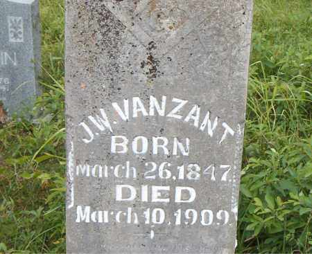 VANZANT, J. W. - Boone County, Arkansas | J. W. VANZANT - Arkansas Gravestone Photos