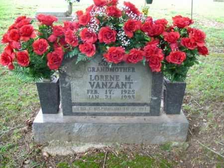 VANZANT, LORENE M. - Boone County, Arkansas | LORENE M. VANZANT - Arkansas Gravestone Photos