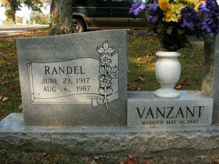 VANZANT, RANDEL - Boone County, Arkansas | RANDEL VANZANT - Arkansas Gravestone Photos