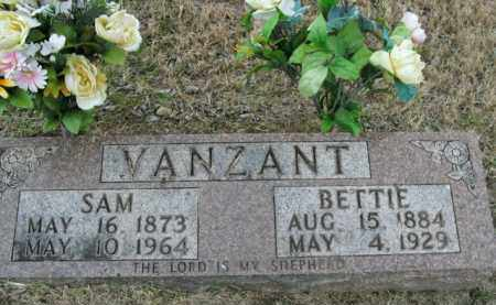 MILLER VANZANT, BETTIE - Boone County, Arkansas | BETTIE MILLER VANZANT - Arkansas Gravestone Photos