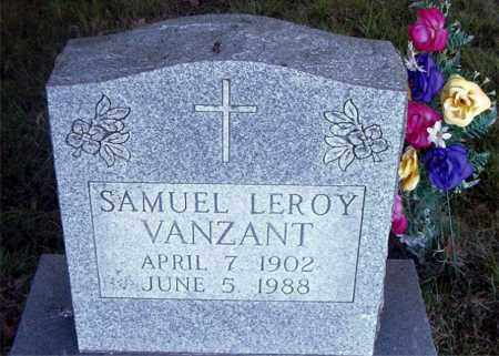 VANZANT, SAMUEL LEROY - Boone County, Arkansas | SAMUEL LEROY VANZANT - Arkansas Gravestone Photos