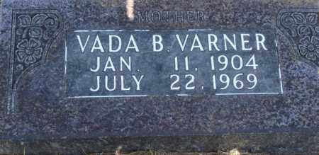 VARNER, VADA B. - Boone County, Arkansas | VADA B. VARNER - Arkansas Gravestone Photos