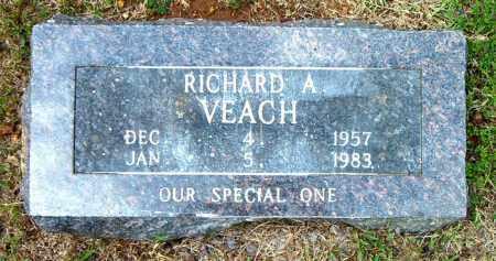 VEACH, RICHARD  A. - Boone County, Arkansas | RICHARD  A. VEACH - Arkansas Gravestone Photos