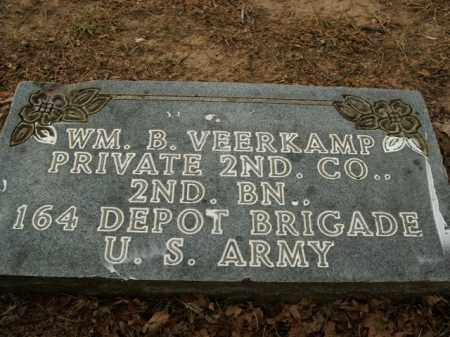 VEERKAMP  (VETERAN), WILLIAM B - Boone County, Arkansas | WILLIAM B VEERKAMP  (VETERAN) - Arkansas Gravestone Photos