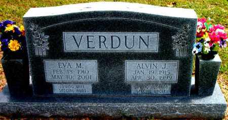 VERDUN, EVA  M. - Boone County, Arkansas | EVA  M. VERDUN - Arkansas Gravestone Photos