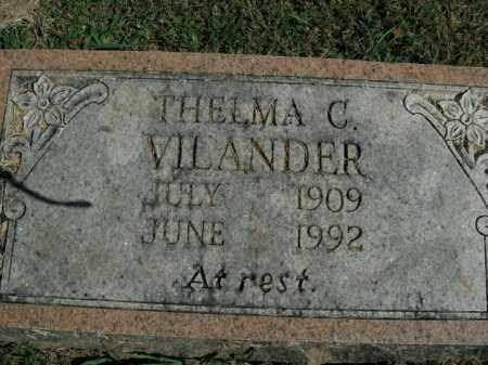VILANDER, THELMA C. - Boone County, Arkansas | THELMA C. VILANDER - Arkansas Gravestone Photos