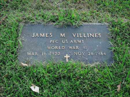 VILLINES  (VETERAN WWII), JAMES M. - Boone County, Arkansas | JAMES M. VILLINES  (VETERAN WWII) - Arkansas Gravestone Photos