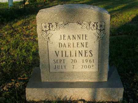 VILLINES, JEANNIE DARLENE - Boone County, Arkansas | JEANNIE DARLENE VILLINES - Arkansas Gravestone Photos