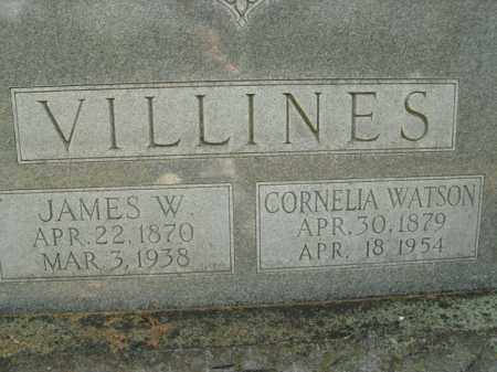 VILLINES, JAMES W. - Boone County, Arkansas | JAMES W. VILLINES - Arkansas Gravestone Photos