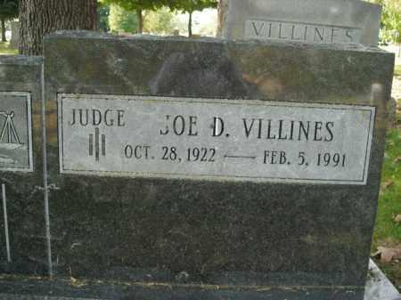 VILLINES  (VETERAN WWII), JOE DARRELL - Boone County, Arkansas | JOE DARRELL VILLINES  (VETERAN WWII) - Arkansas Gravestone Photos