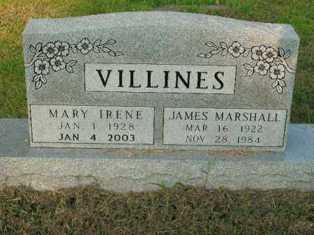 ORENDER VILLINES, MARY IRENE - Boone County, Arkansas | MARY IRENE ORENDER VILLINES - Arkansas Gravestone Photos