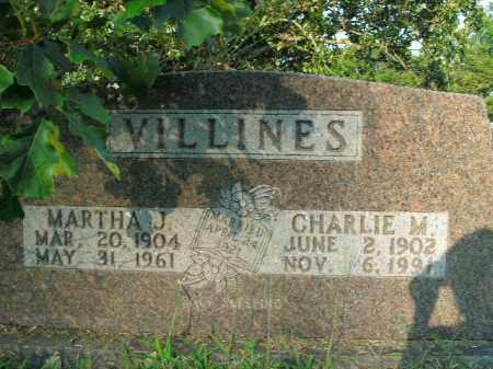 VILLINES, CHARLIE MONROE - Boone County, Arkansas | CHARLIE MONROE VILLINES - Arkansas Gravestone Photos