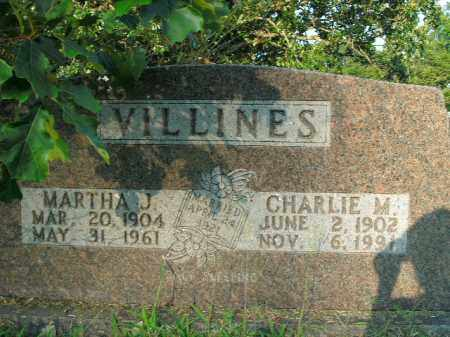 VILLINES, MARTHA JANE - Boone County, Arkansas | MARTHA JANE VILLINES - Arkansas Gravestone Photos