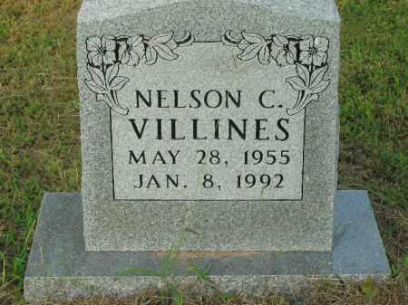 VILLINES  (VETERAN), NELSON CURTIS - Boone County, Arkansas | NELSON CURTIS VILLINES  (VETERAN) - Arkansas Gravestone Photos