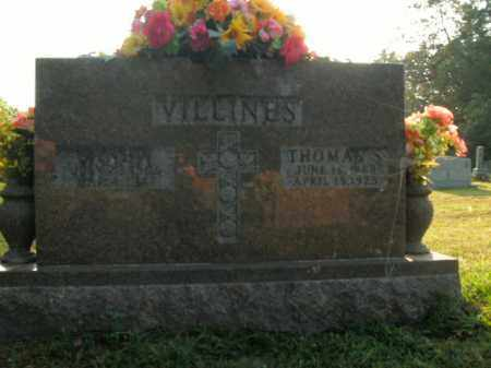 VILLINES, JANE A. - Boone County, Arkansas | JANE A. VILLINES - Arkansas Gravestone Photos