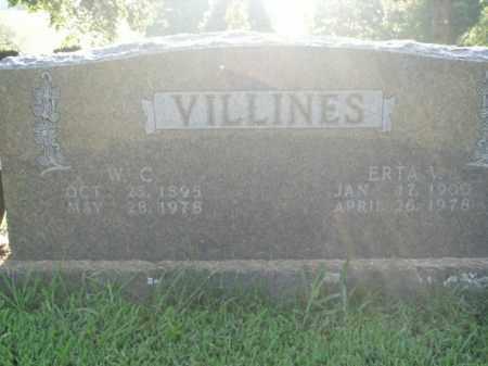 VILLINES, W.C. - Boone County, Arkansas | W.C. VILLINES - Arkansas Gravestone Photos