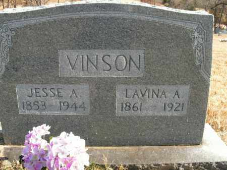 VINSON, JESSE ALLEN - Boone County, Arkansas | JESSE ALLEN VINSON - Arkansas Gravestone Photos