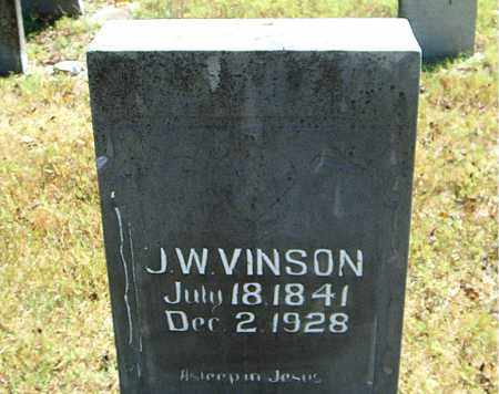 VINSON, J.  W. - Boone County, Arkansas | J.  W. VINSON - Arkansas Gravestone Photos