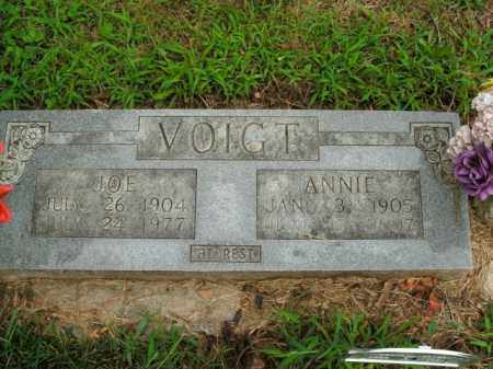 VOIGT, ANNIE - Boone County, Arkansas | ANNIE VOIGT - Arkansas Gravestone Photos