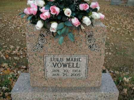 VOWELL, LULU MARIE - Boone County, Arkansas | LULU MARIE VOWELL - Arkansas Gravestone Photos