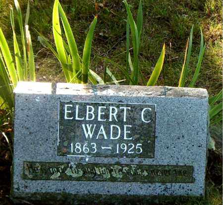 WADE, ELBERT  COLEMAN - Boone County, Arkansas | ELBERT  COLEMAN WADE - Arkansas Gravestone Photos