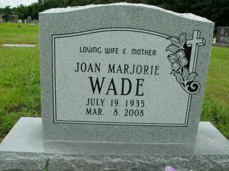 WADE, JOAN MARJORIE - Boone County, Arkansas | JOAN MARJORIE WADE - Arkansas Gravestone Photos