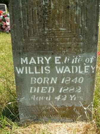 WADLEY, MARY E. - Boone County, Arkansas | MARY E. WADLEY - Arkansas Gravestone Photos