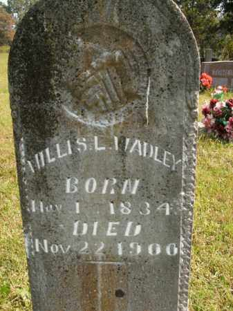 WADLEY, WILLIS L. - Boone County, Arkansas | WILLIS L. WADLEY - Arkansas Gravestone Photos