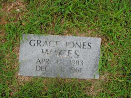 WAGES, GRACE JONES - Boone County, Arkansas | GRACE JONES WAGES - Arkansas Gravestone Photos