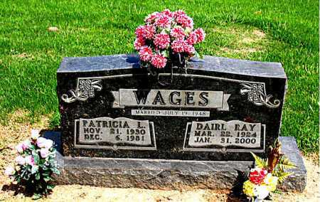 WAGES, DAIRL  RAY - Boone County, Arkansas | DAIRL  RAY WAGES - Arkansas Gravestone Photos